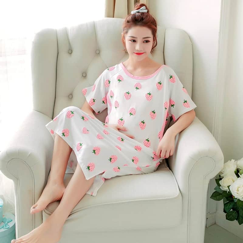Would-be Mother - Maternity Nightwear Pregnant Nightgown